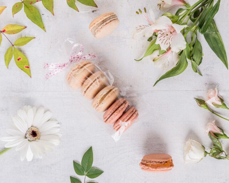 macarons pasteleria evento