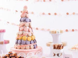 torta y cono cupcakes