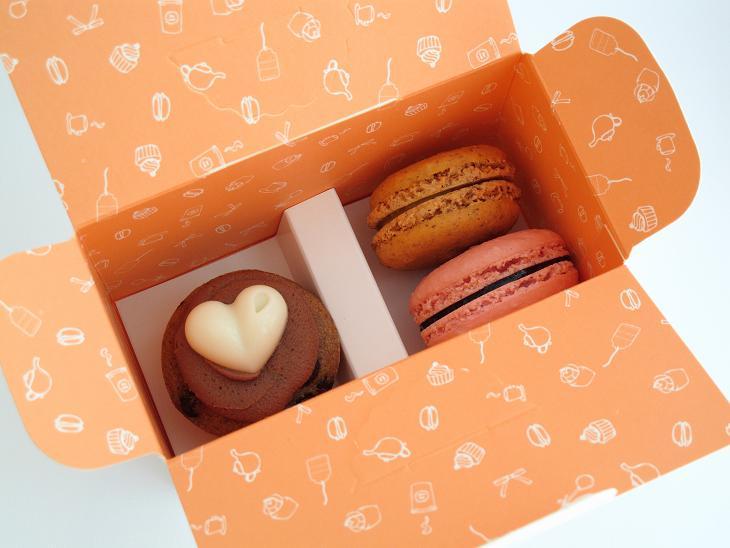 macarons cupcakes mini