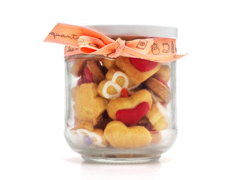 frasco de galletitas