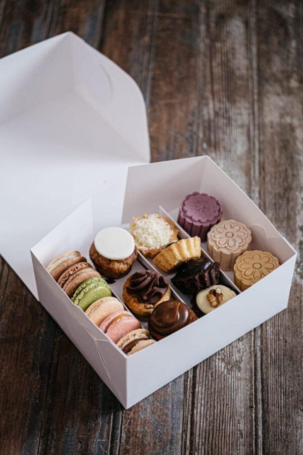 Caja combo pastelería